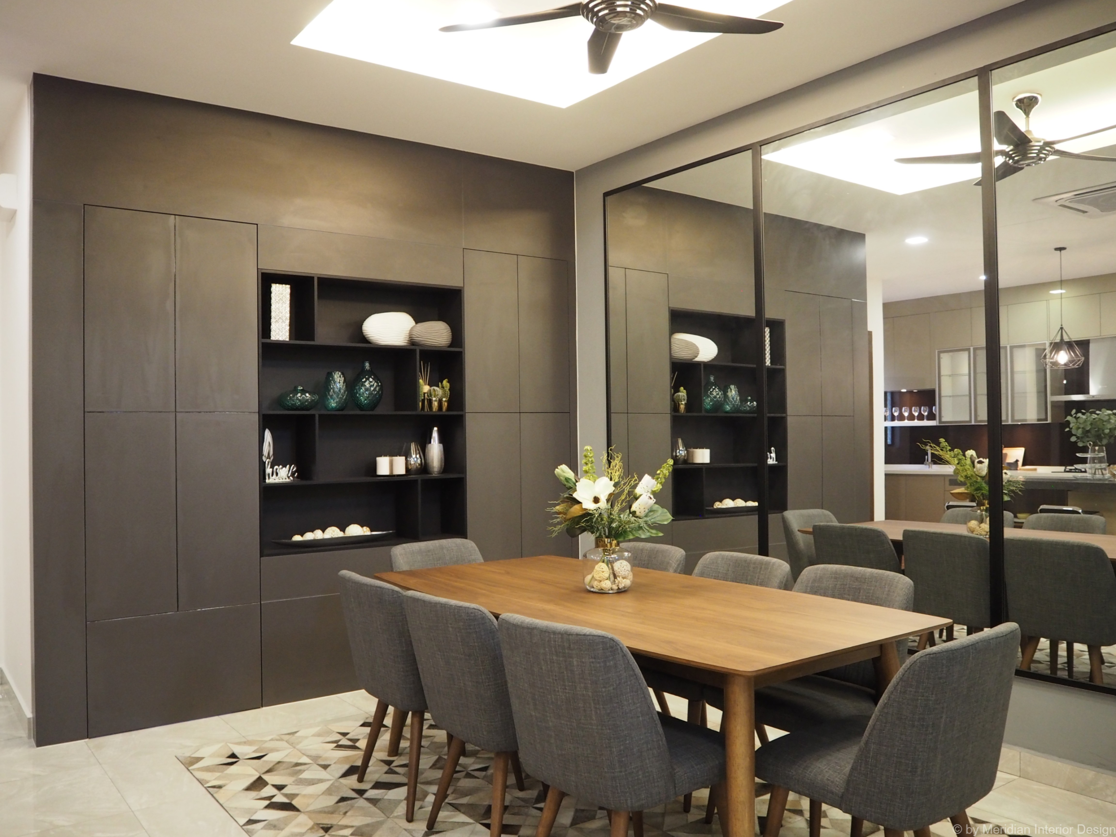 Exceptionnel Modern Luxury Dining Area