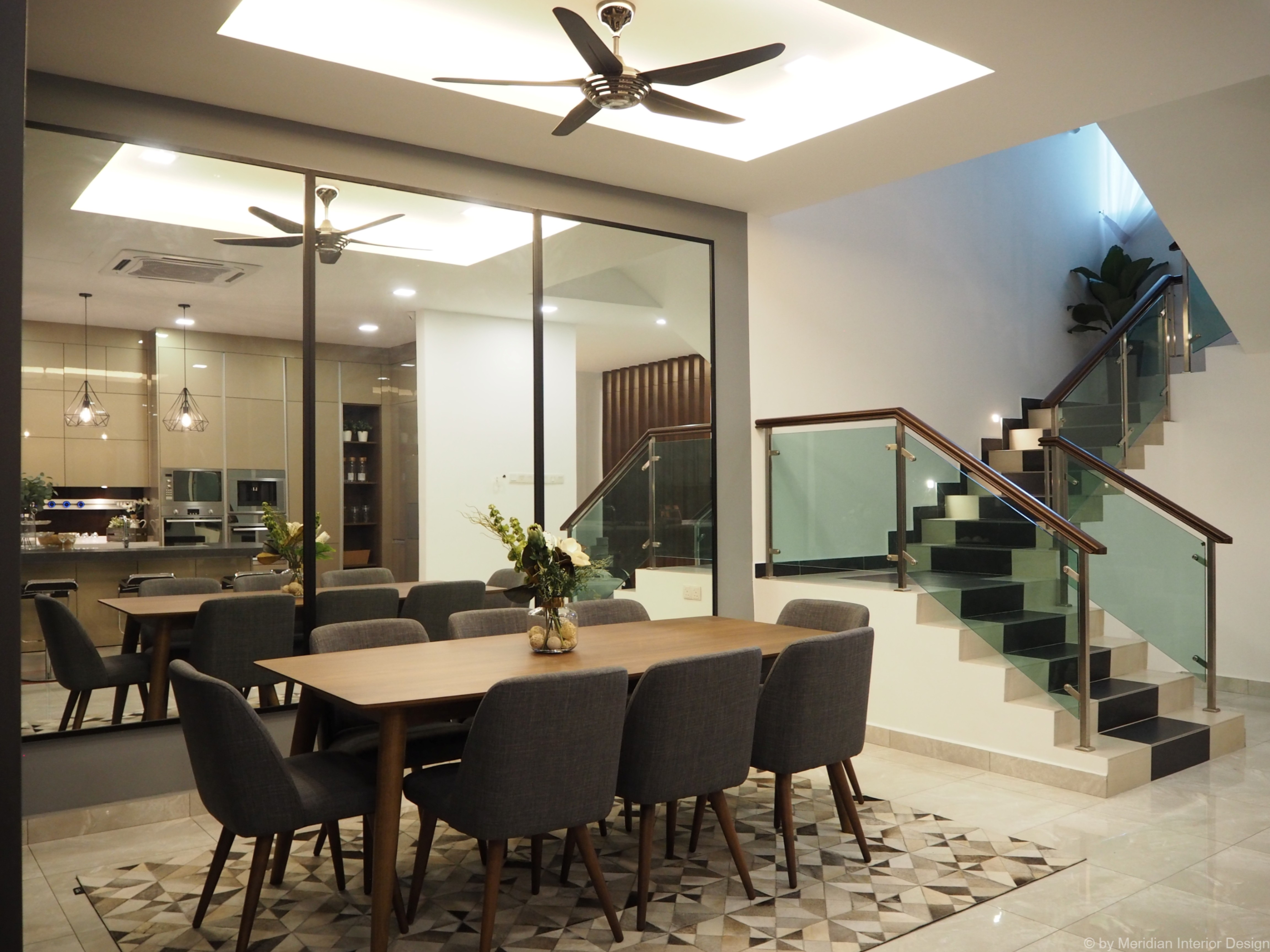 modern dining area design deco and styling 3 meridian