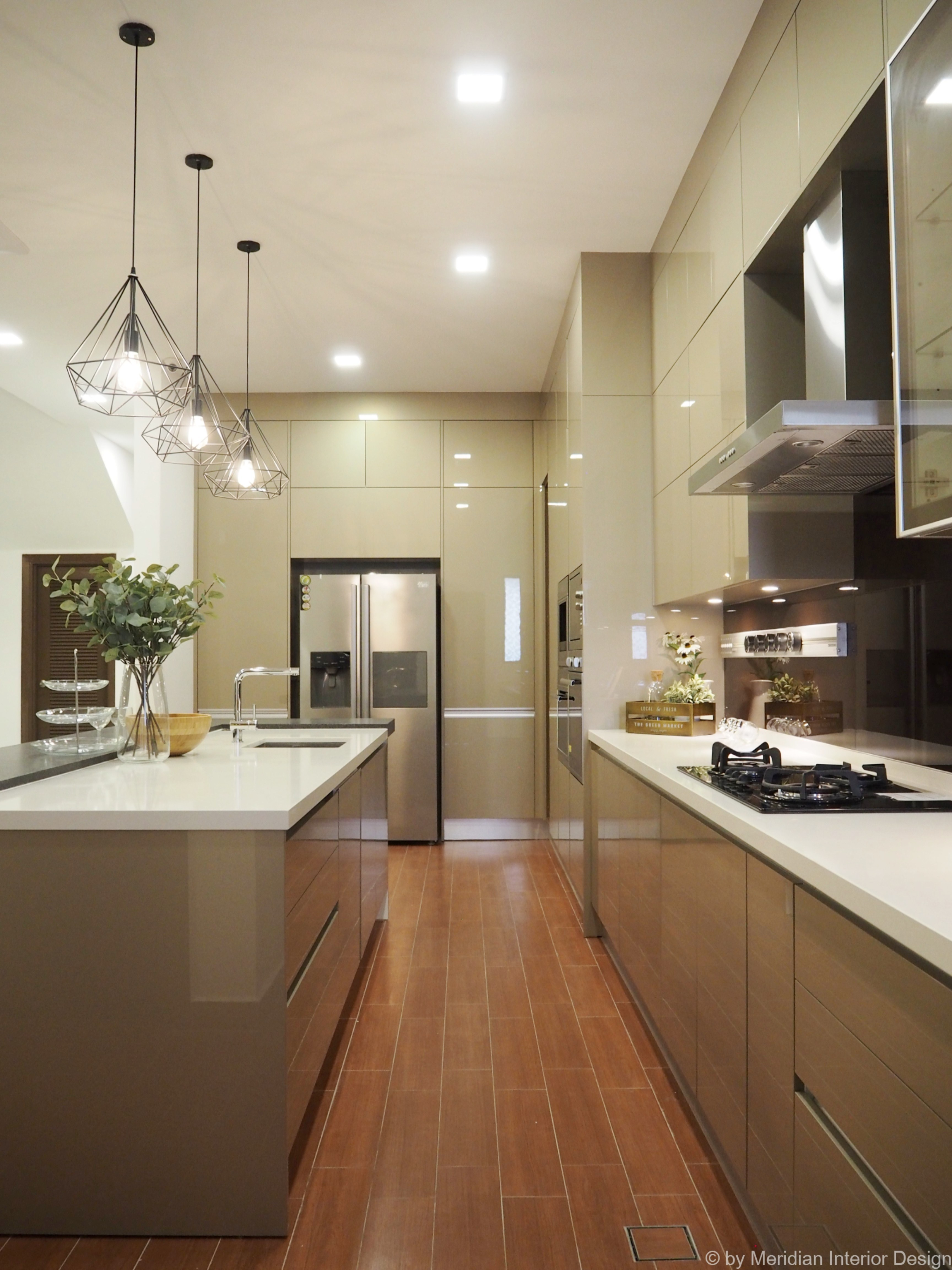 Modern Sleek Kitchen Design 5 Meridian